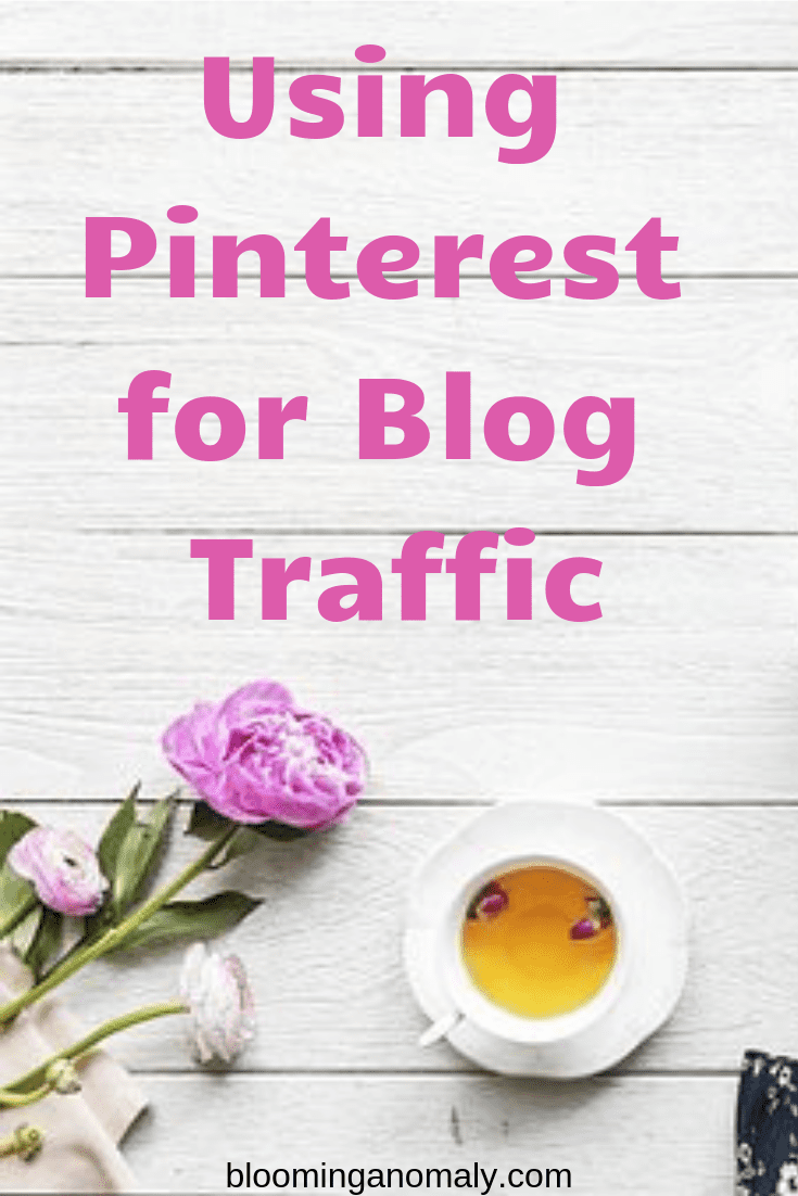using pinterest for blog traffic, how to use pinterest