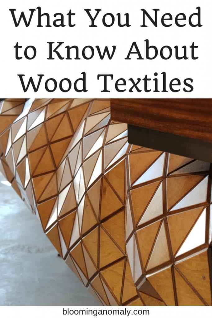 wood textiles