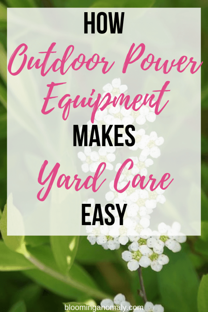 how outdoor power equipment yard care easy
