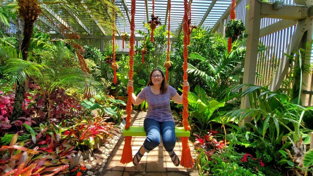 sherman library and gardens, shade garden, shade plants