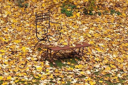 prep your garden for fall, outdoor furniture