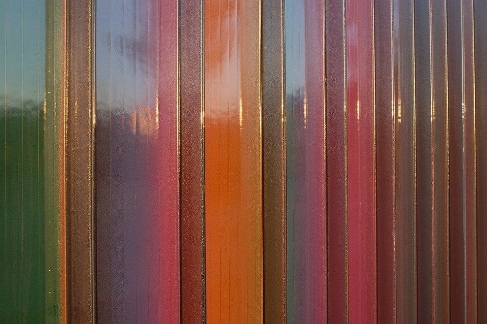 color fence